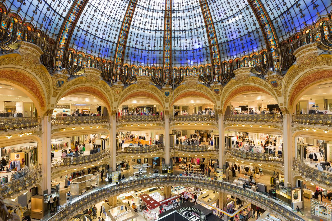 Galeries Lafayette marketing experientiel